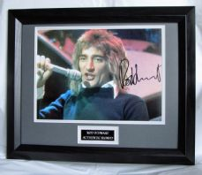 A492RS ROD STEWART SIGNED